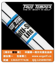 TRUE TEMPER MULTI-STEP LITE  钢杆身