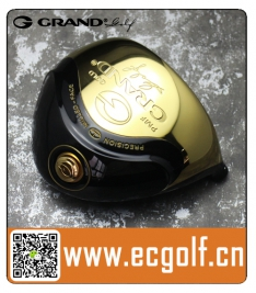 GRAND 葛瑞得 PRECISION MILLED-FACE PMF 一号木高尔夫杆头