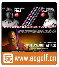 REVE RAVER ASSAULT ATTACK NICKEL BORON 高尔夫一号木杆身