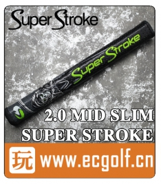 握把 死神 Super Stroke 2.0 MID SLIM 高尔夫推杆握把