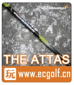 二手 杆身 UST MAMIYA THE ATTAS 5SR 高尔夫一号木杆身(TOUR B XD-3)