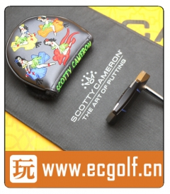 推杆 卡梅隆 SCOTTY CAMERON PHANTOM X8 MOTO CUSTOM 特别定制版 高尔夫球杆