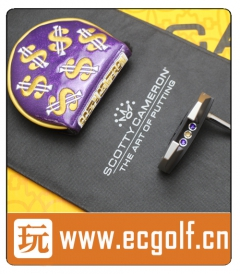 推杆 卡梅隆 SCOTTY CAMERON PHANTOM X5.5 MOTO CUSTOM 特别定制版 高尔夫球杆